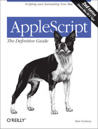 Cover of AppleScript: The Definitive Guide, 2nd Edition