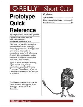 Prototype Quick Reference