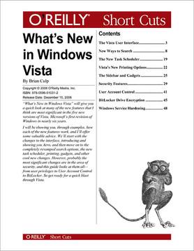 What's New in Windows Vista?
