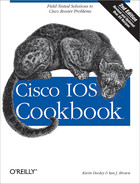 Cover of Cisco IOS Cookbook, 2nd Edition