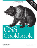 Cover image for CSS Cookbook, 2nd Edition
