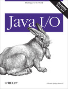 Cover of Java I/O, 2nd Edition