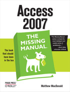 Cover image for Access 2007: The Missing Manual