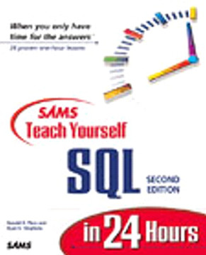 Sams Teach Yourself SQL in 24 Hours, Second Edition