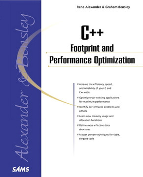 C++ Footprint and Performance Optimization