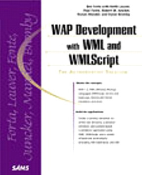 WAP Development with WML and WMLScript