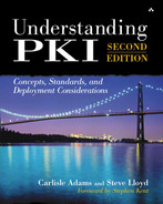 Cover of Understanding PKI: Concepts, Standards, and Deployment Considerations, Second Edition