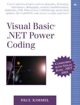 Visual Basic® .NET Power Coding