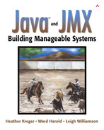 Cover of Java™ and JMX: Building Manageable Systems