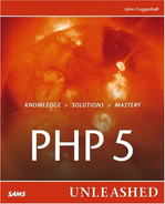 Cover of PHP 5 Unleashed