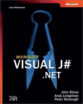 Microsoft® Visual J#™ .NET (Core Reference)
