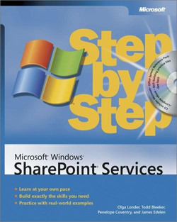 Microsoft® Windows® SharePoint® Services Step by Step