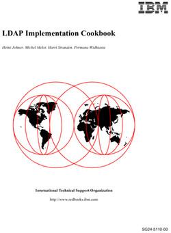 LDAP Implementation Cookbook