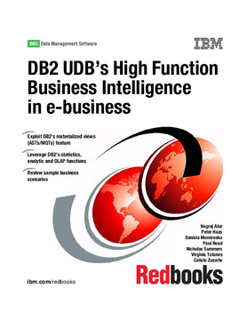 DB2 UDB's High-Function Business Intelligence in e-business