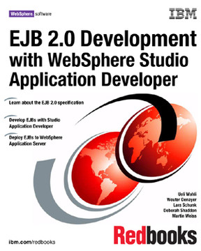 EJB 2.0 Development with WebSphere Studio Application Developer