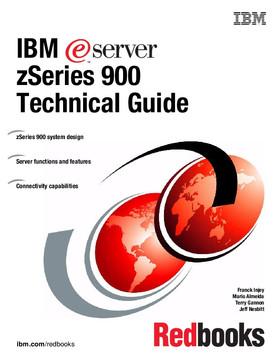 IBM eServer zSeries 900 Technical Guide