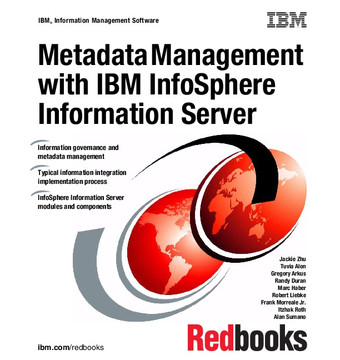 Metadata Management with IBM InfoSphere Information Server