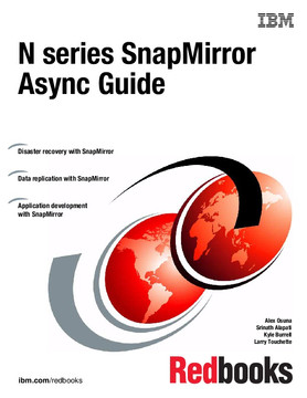 N series SnapMirror Async Guide