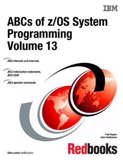 ABCs of z/OS System Programming Volume 13