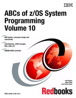 ABCs of z/OS System Programming Volume 10