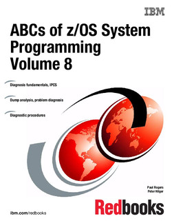 ABCs of z/OS System Programming Volume 8