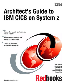 Architect's Guide to IBM CICS on System z