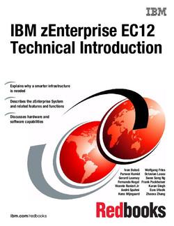 IBM zEnterprise EC12 Technical Introduction