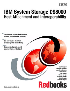 IBM System Storage DS8000: Host Attachment and Interoperability