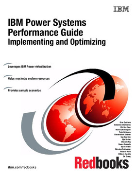 IBM Power Systems Performance Guide: Implementing and Optimizing