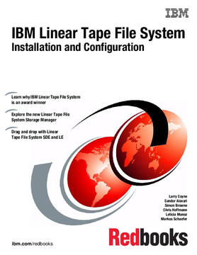 IBM Linear Tape File System Installation and Configuration