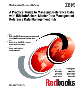 A Practical Guide to Managing Reference Data with IBM InfoSphere Master Data Management Reference Data Management Hub