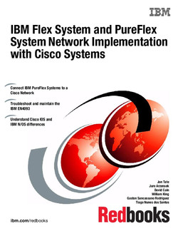 IBM Flex System and PureFlex System Network Implementation with Cisco Systems