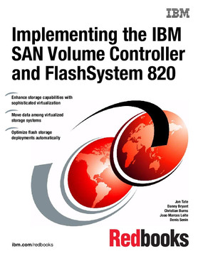 Implementing the IBM SAN Volume Controller and FlashSystem 820