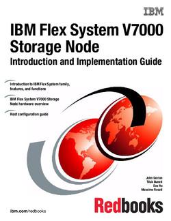 IBM Flex System V7000 Storage Node Introduction and Implementation Guide
