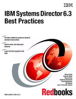 IBM Systems Director 6.3 Best Practices