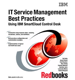 IT Service Management Best Practices Using IBM SmartCloud Control Desk