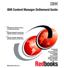 IBM Content Manager OnDemand Guide