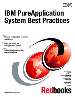 IBM PureApplication System Best Practices