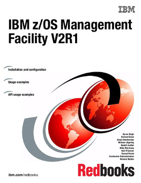 IBM z/OS Management Facility V2R1
