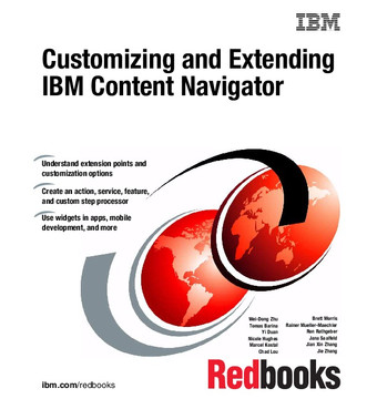 Customizing and Extending IBM Content Navigator