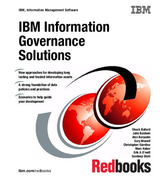 IBM Information Governance Solutions