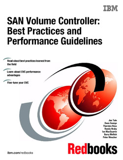 SAN Volume Controller: Best Practices and Performance Guidelines
