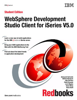 Student Edition: WebSphere Development Studio Client for iSeries V5.0
