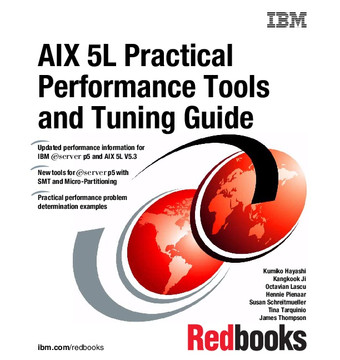 AIX 5L Practical Performance Tools and Tuning Guide