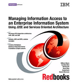Managing Information Access to an Enterprise Information System Using J2EE and Services Oriented Architecture