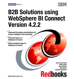 B2B Solutions using WebSphere BI Connect Version 4.2.2