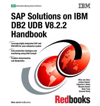 SAP Solutions on IBM DB2 UDB V8.2.2 Handbook