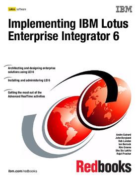 Implementing IBM Lotus Enterprise Integrator 6
