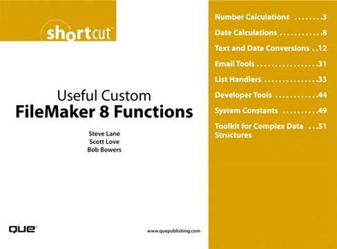 Useful Custom FileMaker 8 Functions