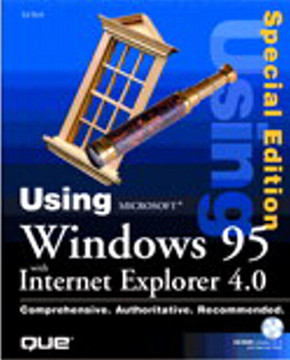 Special Edition Using Windows 95 with Internet Explorer 4.0